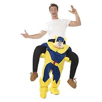 Bananaman Piggy Back Kostüm