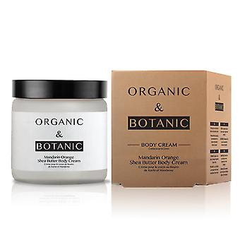 Organic & botanic mandarin orange shea butter body cream 50ml