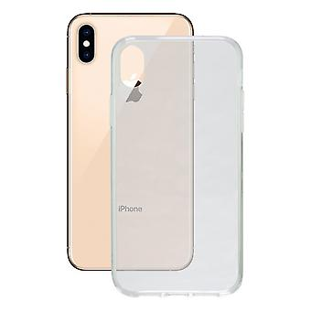 Mobiele cover Iphone Xs Max Contact Flex TPU Transparant
