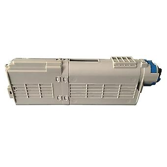 Premium Compatible Cyan Toner With Chip Replacement For 46490611