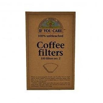 If You Care - Coffee Filters No.2 Unbleached 100filters