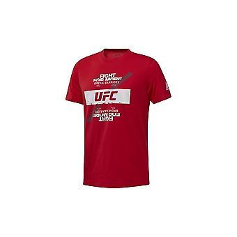 Reebok UFC tuuletin taistella sinun DU4581 universaali kaikki vuosi miehet t-paita