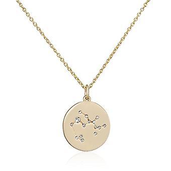 Pilgrim Gold-plated Woman Pendant Necklace - 521612111