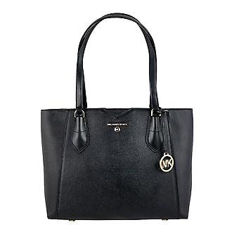 Michael By Michael Kors 30h9gm5t2l001 Mujeres's Negro Cuero Tote