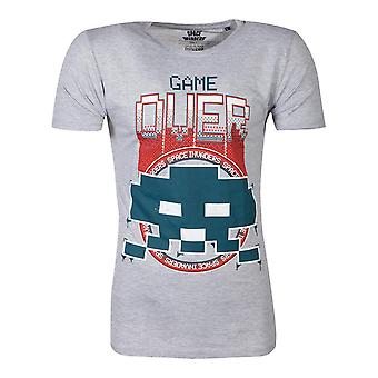 Official Space Invaders Game Over Men's T-shirt