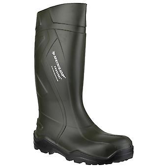 Dunlop women's purofort+ wellington boot green 20224