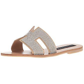 Steven by Steve Madden Womens greece-r Open Toe Casual Slide Sandals