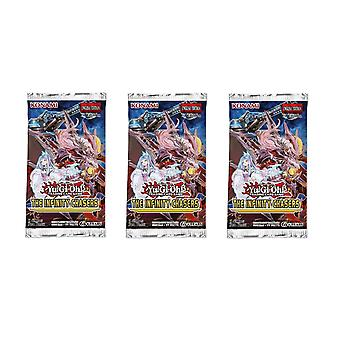 Yu-Gi-Oh! - The Infinity Chasers - Booster Packs 3-Pack.