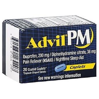 Advil PM Pain Reliever/Nighttime Sleep-Aid Caplets (OVERSTOCK SALE)