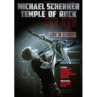 Michael Schenker - Temple of Rock: Live in Europe [DVD] USA import