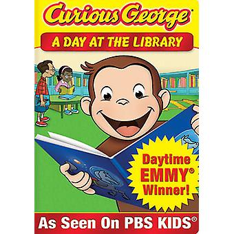 Curious George - Curious George: A Day at de bibliotheek [DVD] USA import