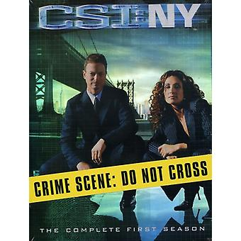 CSI: Ny: säsong 1 [DVD] USA import