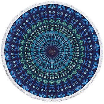 الأزرق هويز ماندالا دائرة بيتش منشفة