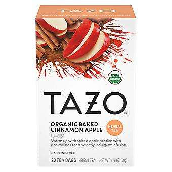 Tazo Organic Baked Cinnamon Apple Herbal Tea