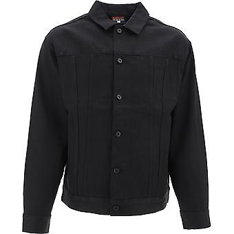 Babylon La F103013blk Men's Black Cotton Outerwear Jacket