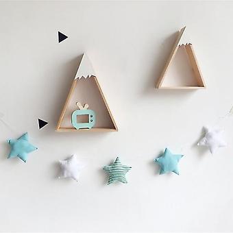 Nordic Baby Room Handmade Nursery Star Garlands