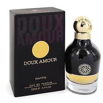 Doux amour eau de parfum spray by riiffs 549277 100 ml