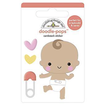 Doodlebug Diseño Bebé Pasos Doodle-Pops