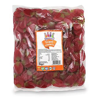 Kingsway Pick & Mix Confeitaria Gigantes Morangos 1 quilo