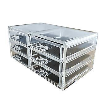 Custodia per storage cosmetici a vista con cassetto(6410) multifunzioni