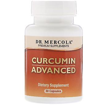 Dr. Mercola, Curcumin Avancerad, 30 kapslar