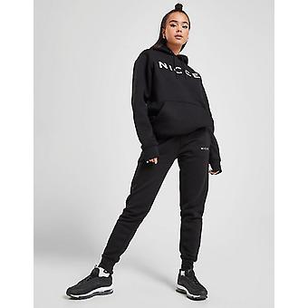 New Nicce Women's Logo Fleece Joggers Black