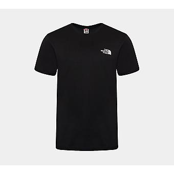 North Face Simple Dome Tee Black Large
