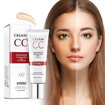 Natural Brightening Base Makeup Concealer Whitening Moisturizing Face Cream - 25ml