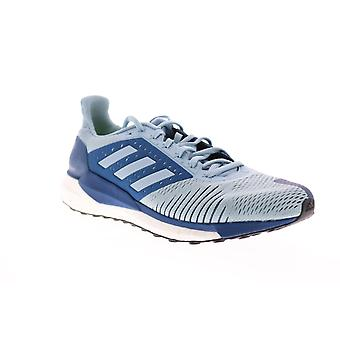 Adidas Solar Glide ST  Mens Blue Mesh Lace Up Athletic Running Shoes