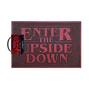 Stranger Things Enter The Upside Down Rubber Doormat