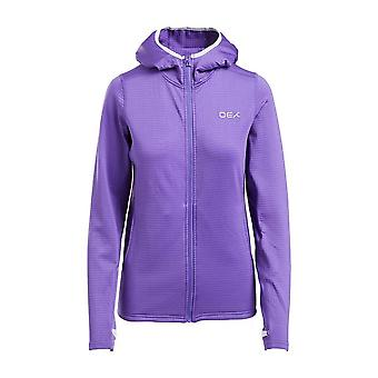 Oex Women's Flint Midlayer Jacket Purple