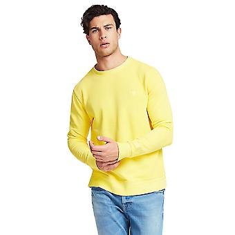 Guess Cotton Sweatshirt - Yellow