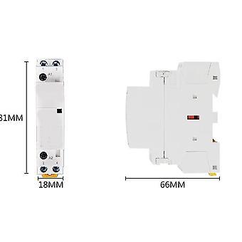 Spule 220v/230v, 50/60hz Din Rail Haushalt Ac Modularer Schütze 2no
