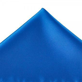 Ties Planet Plain Dark Royal Blue Pocket Square Fazzoletto