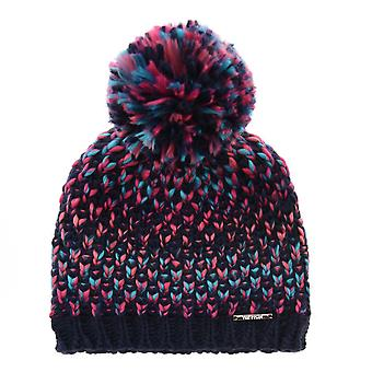 Nevica Womens Davos Beanie Hat Ski Winter Pom Pom Knitted Outdoor