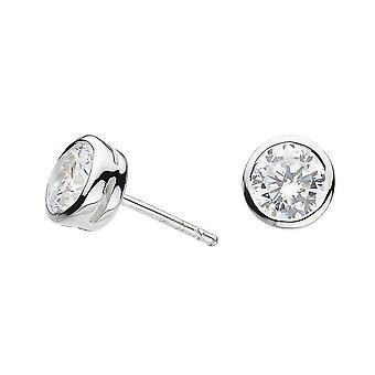 Dew Sterling sølv cubic zirconia Studs 3729CZ021