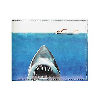 Jaws Wallet Classic Movie Poster Logo nieuwe officiële bifold