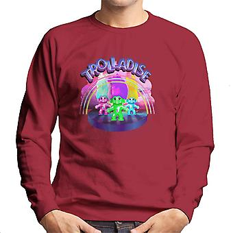 Trolls In Trolladise Men's Sweatshirt