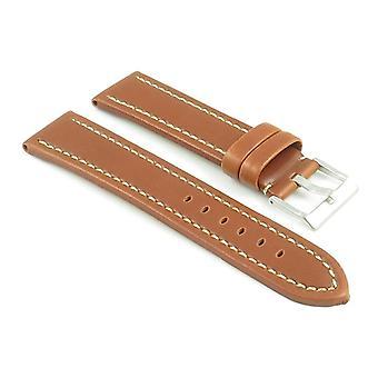 Strapsco premium leather watch strap