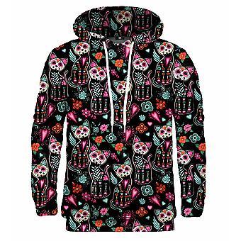 Mr Gugu Miss Go Cat skelett hoodie