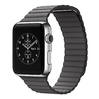 Strapsco leather loop strap for apple watch