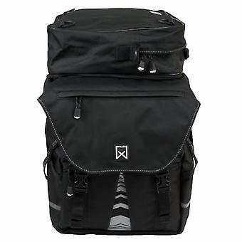 Willex bicycle bags with upper pocket XL 1200 65 L Black 13411