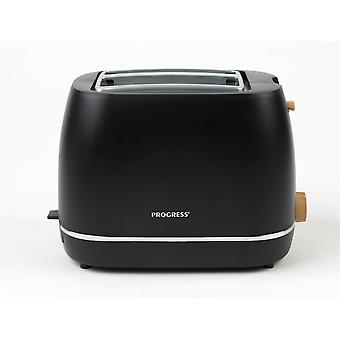 Progress Scandi Toaster with Warming Rack Toast Cancel Defrost Reheat