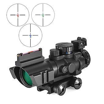 Dovetail Reflex Optiikka Scope taktinen näky metsästysaseelle