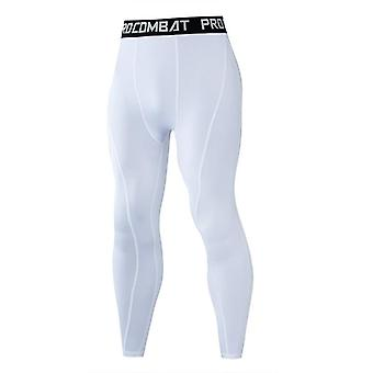 Mannen Compressie Strakke Leggings Running Sports Man Gym Fitness JoggingBroek