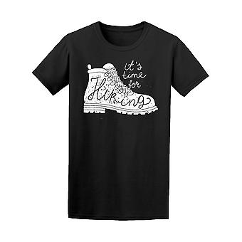 It's Time For Hiking Camp Boot Tee Men's -Image by Shutterstock