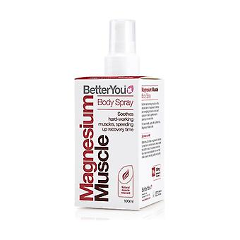 Magnesium muscle body spray 100 ml