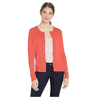 Essentials Women&s Lekki sweter z karmą crewneck, czarny pasek...