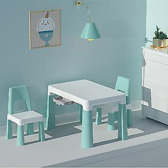 Çocuklar Çalışma Masası Aktivite Masası Yüksekliği Ayarlanabilir Çalışma Masası Sandalye Seti
