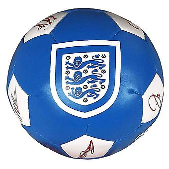 """Engeland Official Supporter 4"""" Mini Soft Football Soccer Ball Blauw/Rood/Wit"""